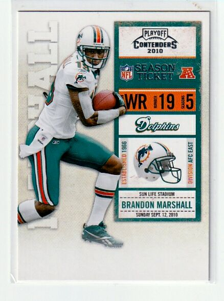 Brandon Marshall 4-Card Lot