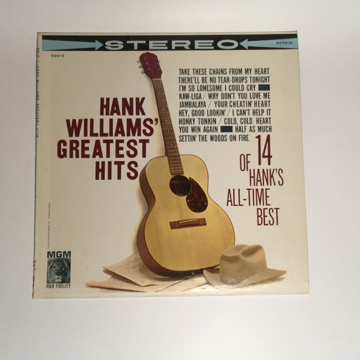 HANK WILLIAMS Greatest Hits 14 All-Time