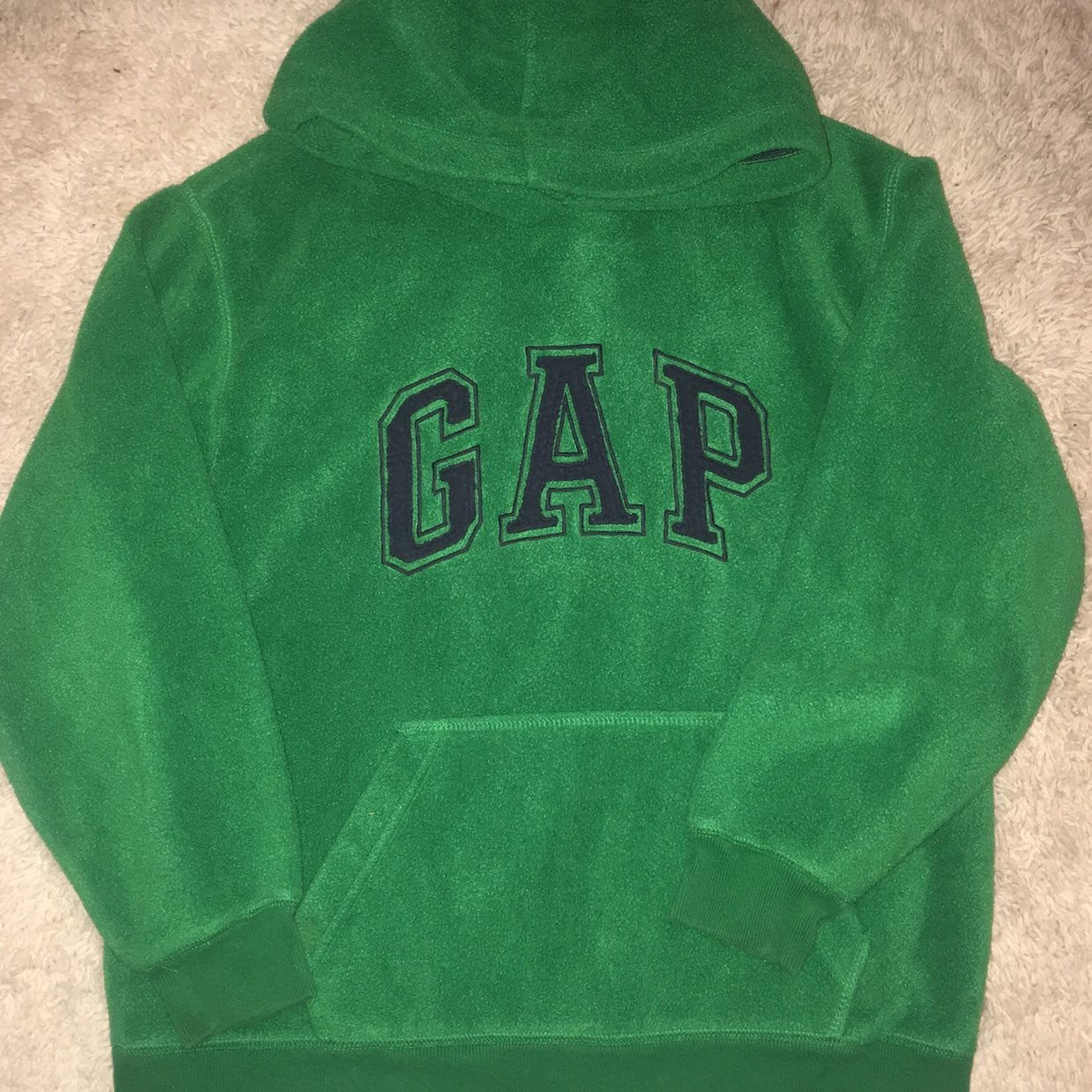 Boys Gap Fleece Pullover - Mercari: BUY & SELL THINGS YOU LOVE