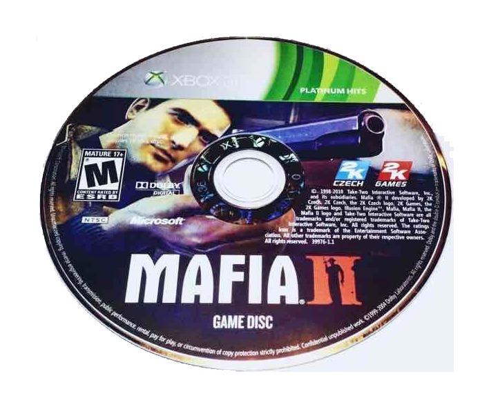 Mafia II Microsoft Xbox 360