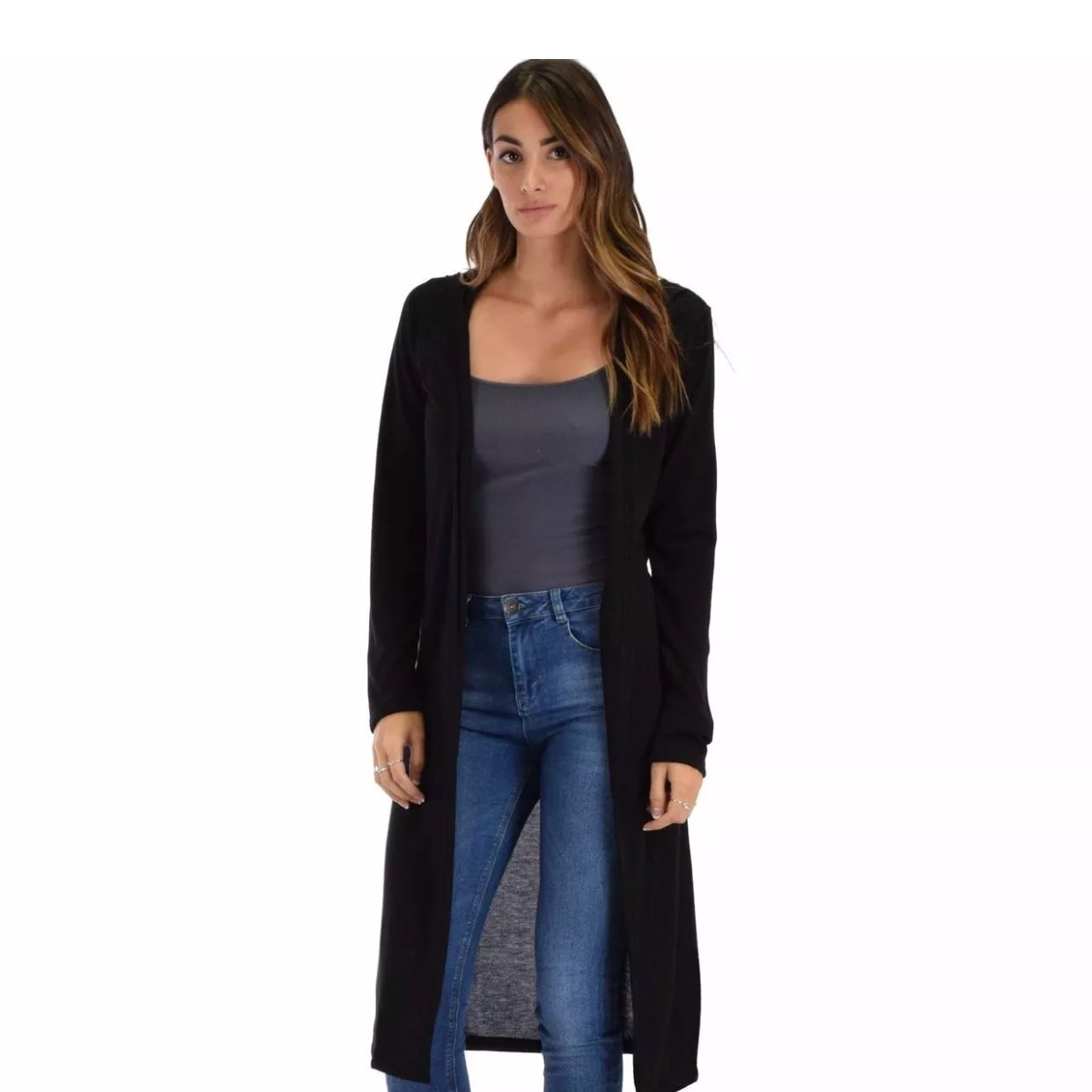 Long Light Weight Hooded Cardigan - Mercari: BUY & SELL THINGS YOU ...