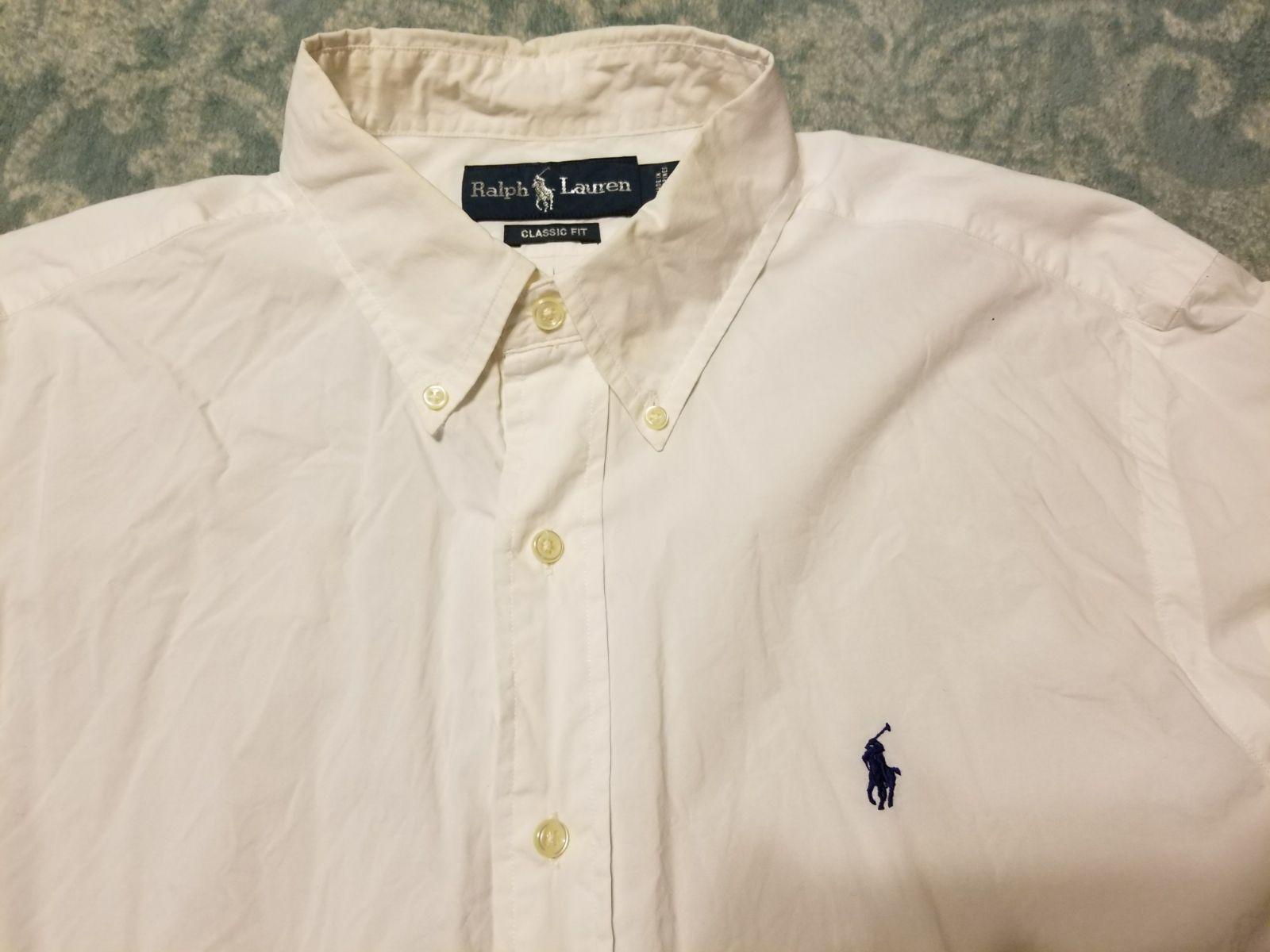 White short sleeve Polo by Ralph Lauren