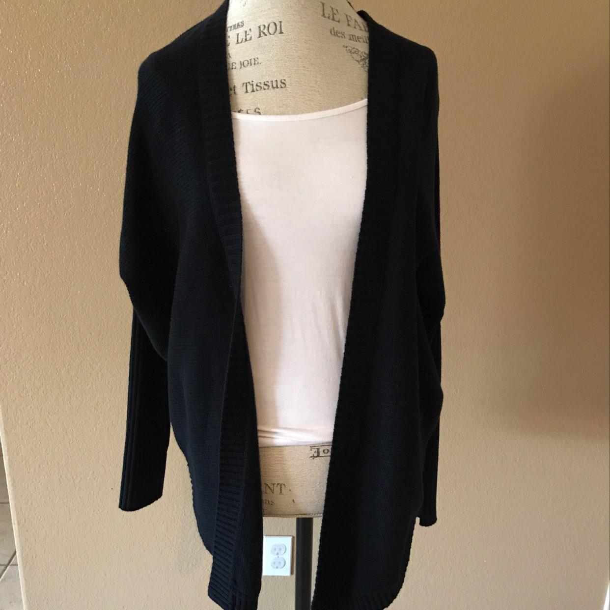 Express Black Cardigan Size Small Nwt - Mercari: BUY & SELL THINGS ...