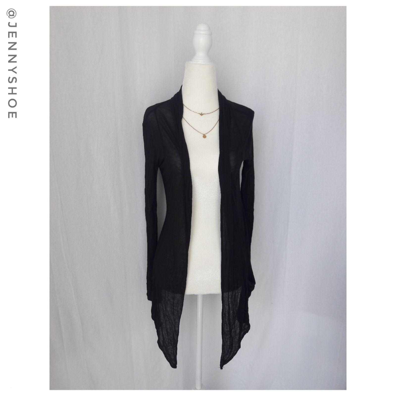 Forever 21 lightweight black cardigan - Mercari: BUY & SELL THINGS ...