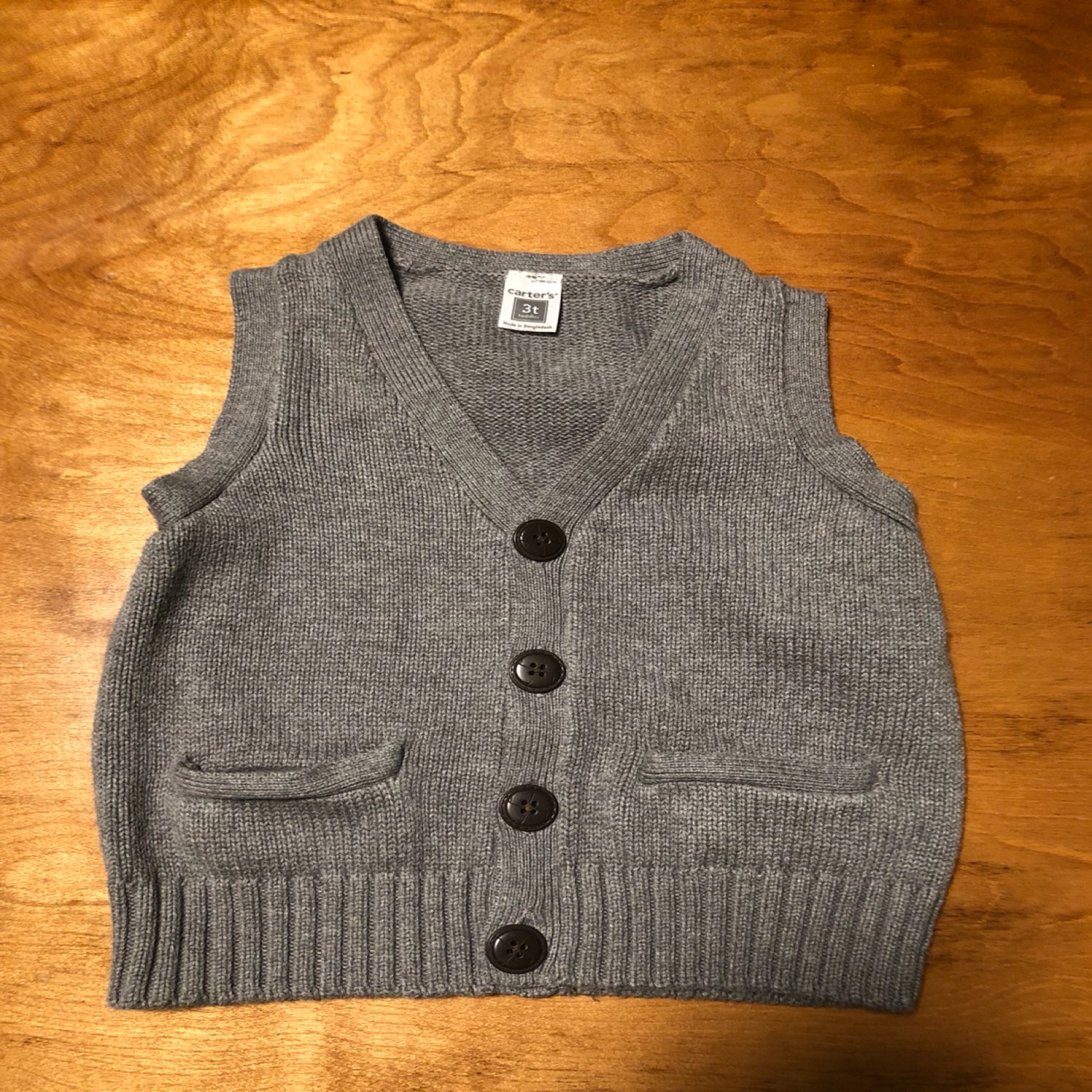 Boys CARTERS Sweater Vest 3T - Mercari: BUY & SELL THINGS YOU LOVE