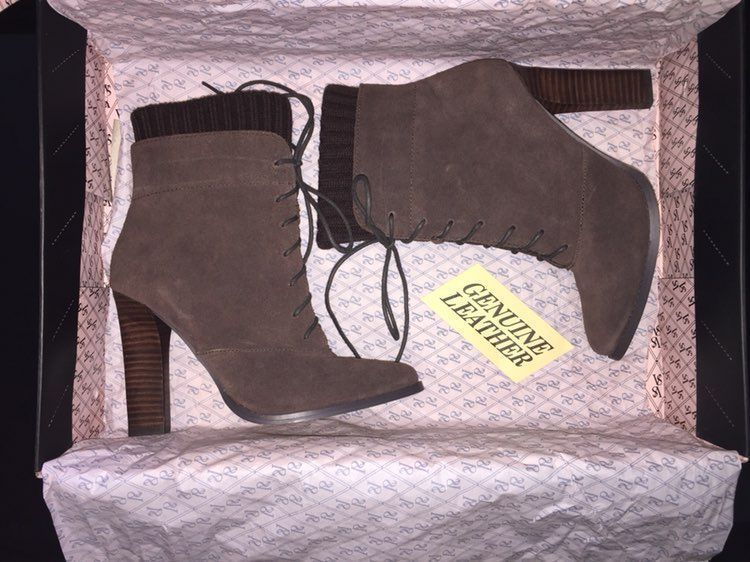 Victoria's Secret Leather Booties