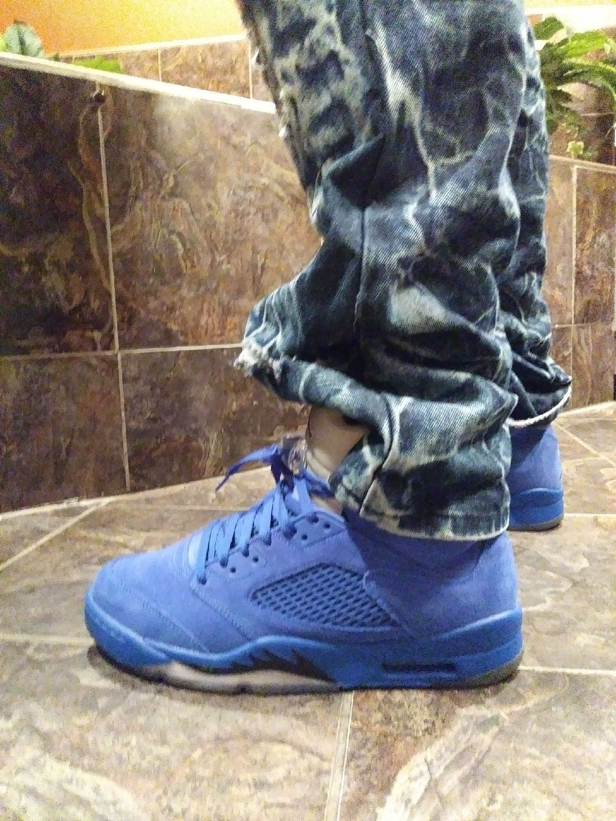 Air Jordan 5 retro royal/Noir