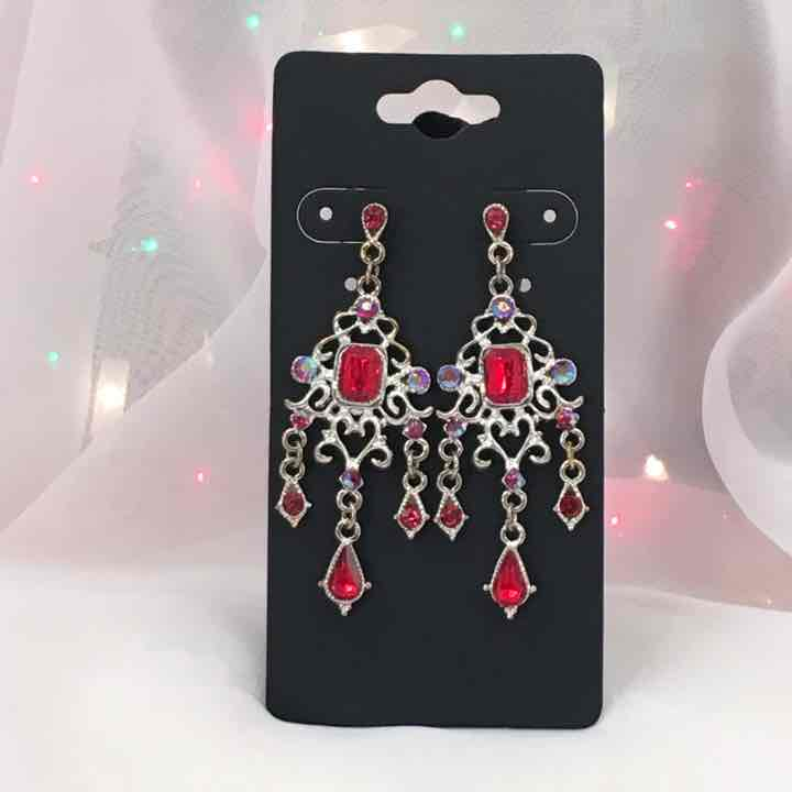 Red crystal chandelier earrings mercari buy sell things you love red crystal chandelier earrings aloadofball Gallery