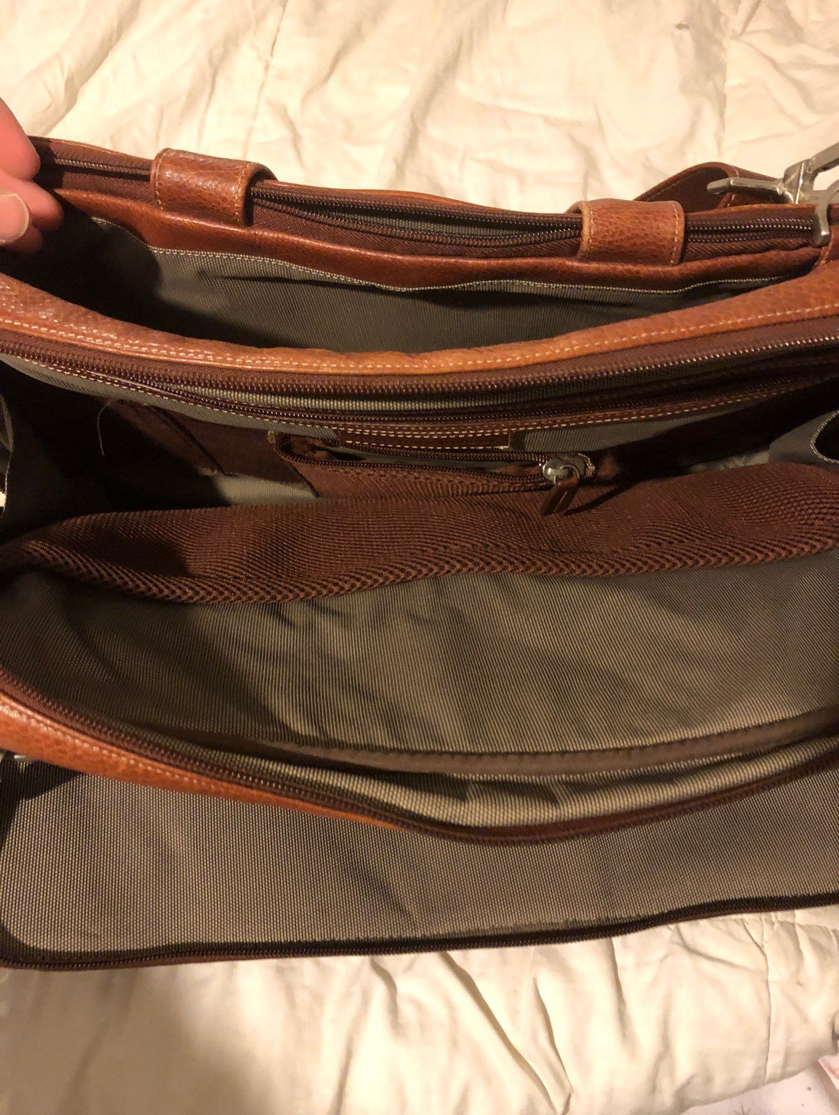 Johnston & Murphy Satchel Bag