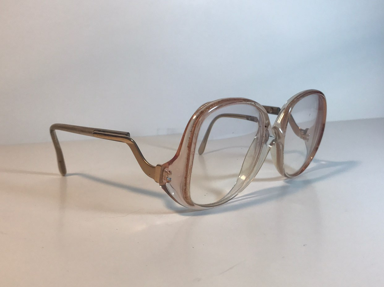 Vintage Oversized Eyeglasses Glasses
