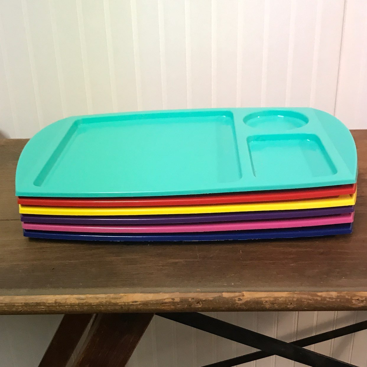 Set of 6 Vtg Fremware Dinner Trays