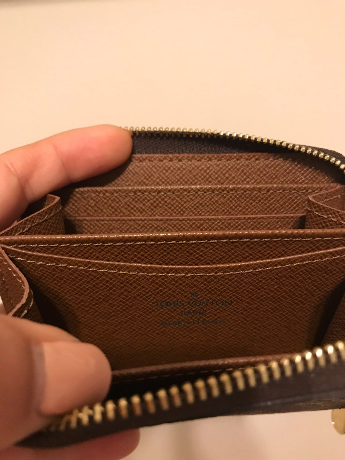 Louis Vuitton Zippy Coin Purse Monogram