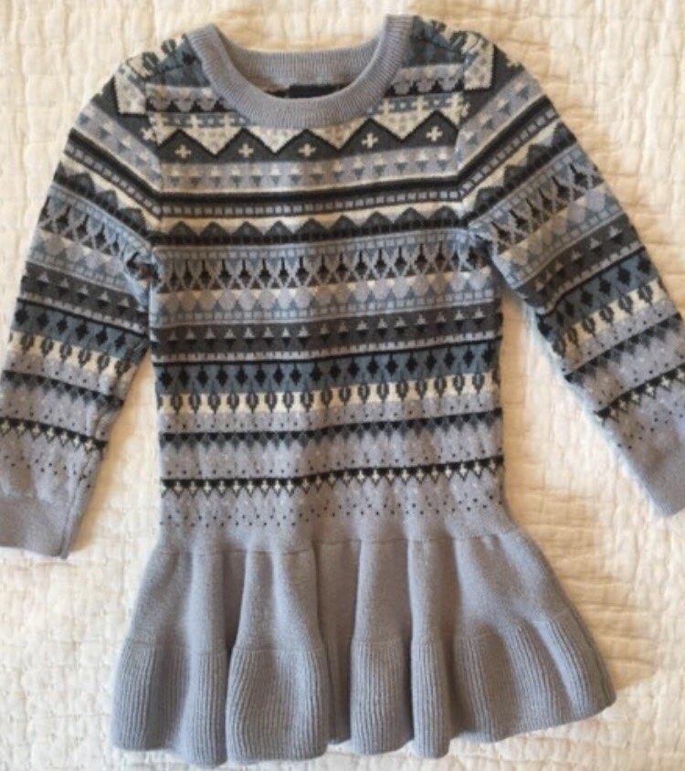 Gap Kids Fair Isle Sweater Dress 2T - Mercari: BUY & SELL THINGS ...