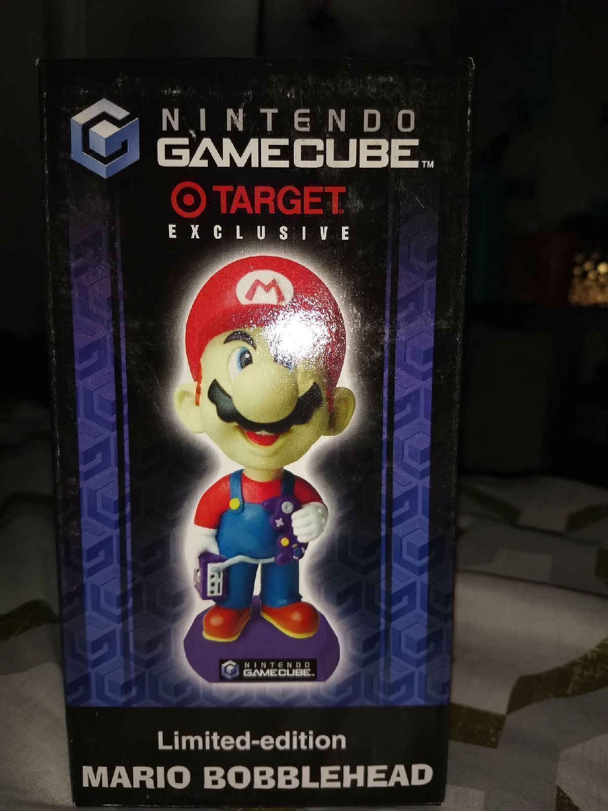 New Mario bobble head limited