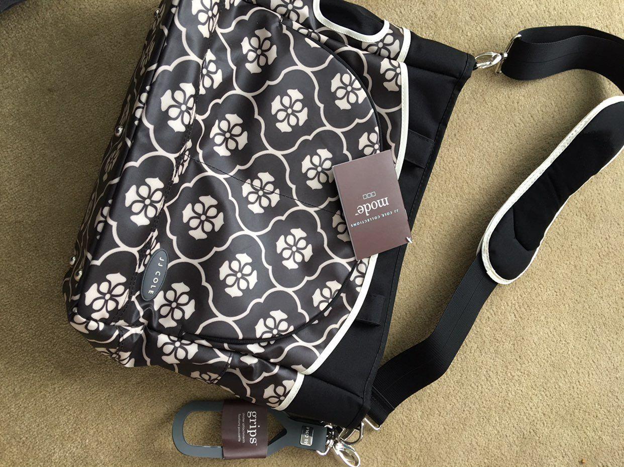 NWT JJ Cole Diaper Bag