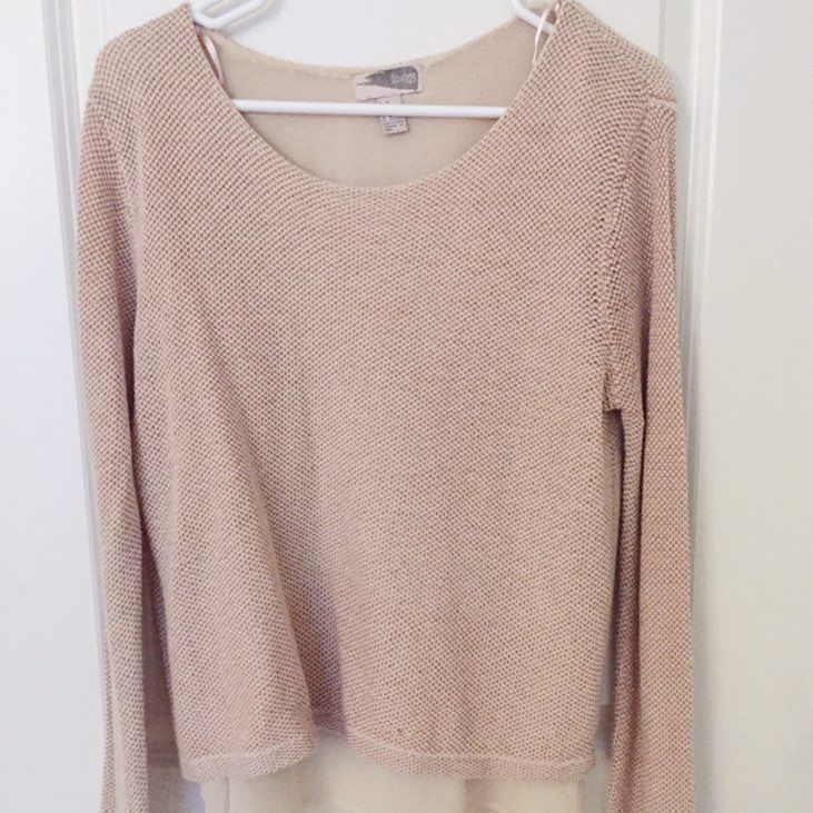 Forever 21 Women's Light Pink Sweater - Mercari: BUY & SELL THINGS ...