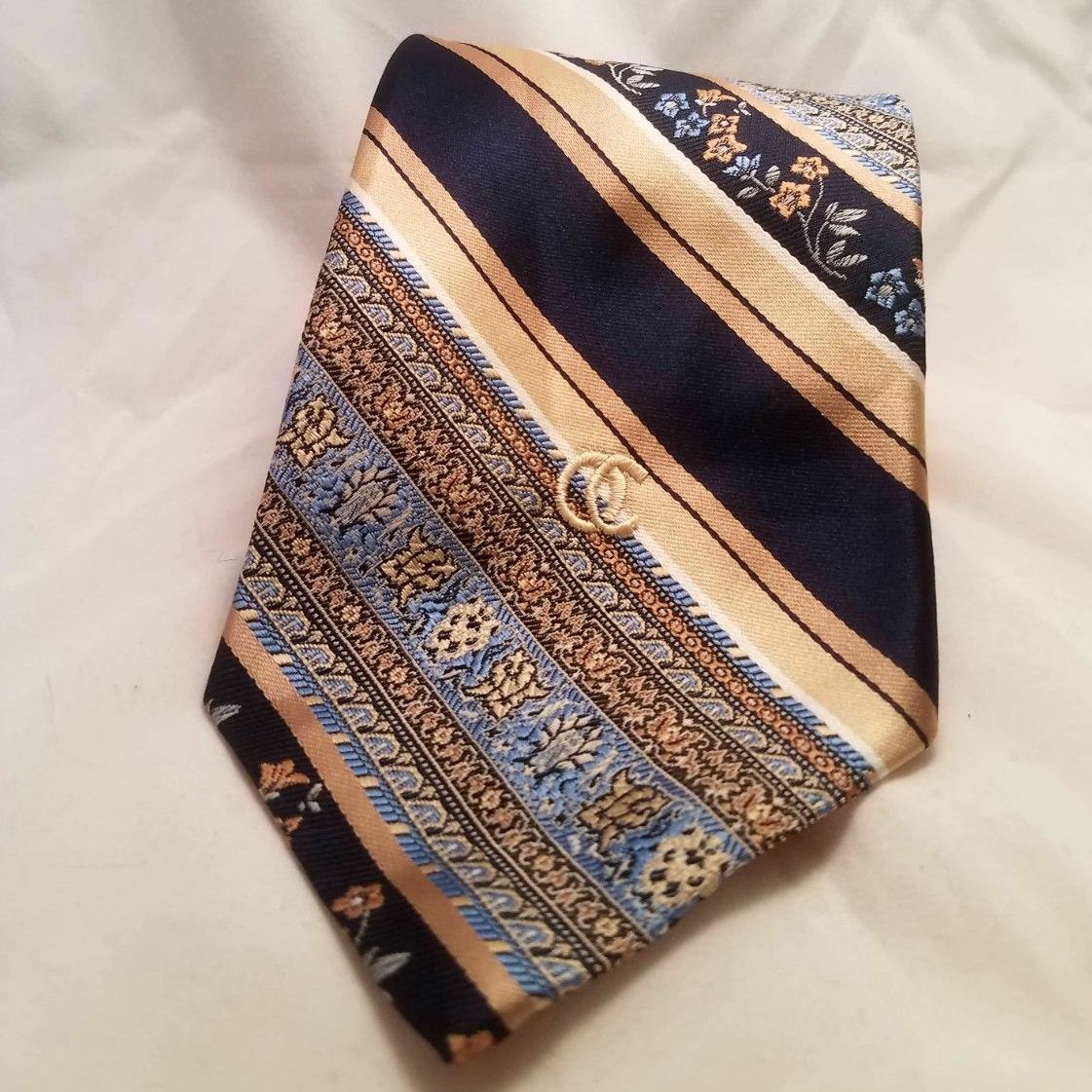 Parsley and Stripe Tie