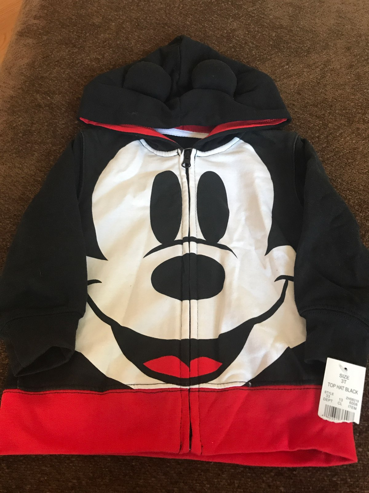 Mickey Mouse Boys Zip up