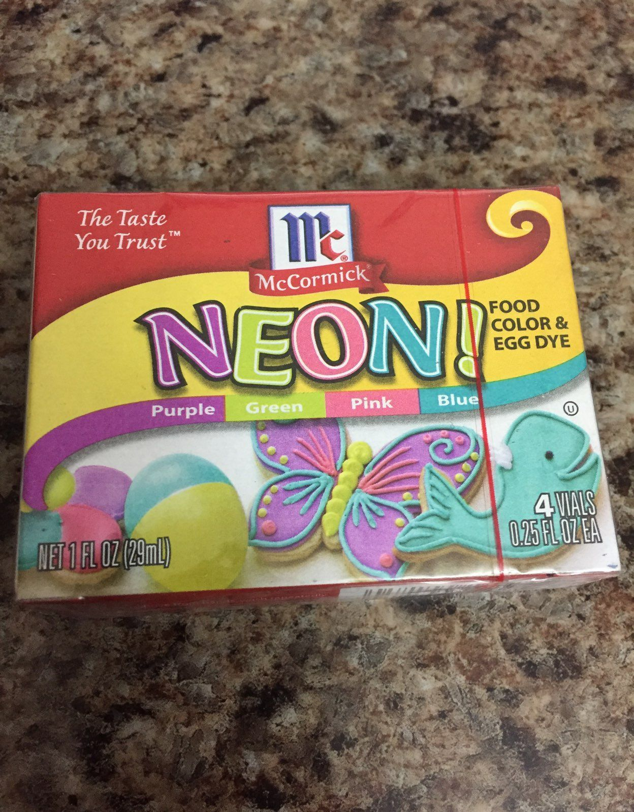 Mccormick Neon Food Coloring Chart Images - Free Any Chart Examples
