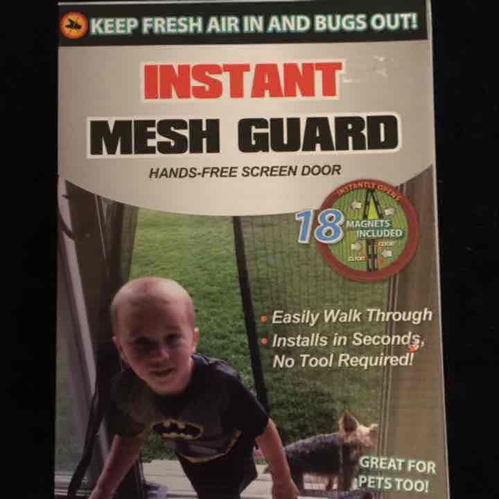 KEEP THOSE BUGS OUT! MESH GUARD~NEW/BOX