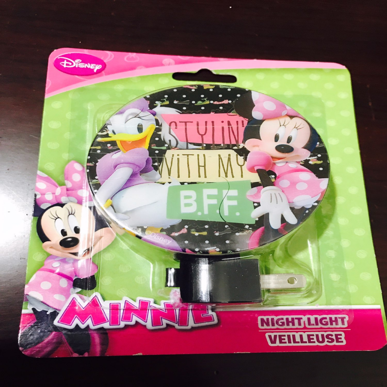 Minnie &Daisy DuckNight Light