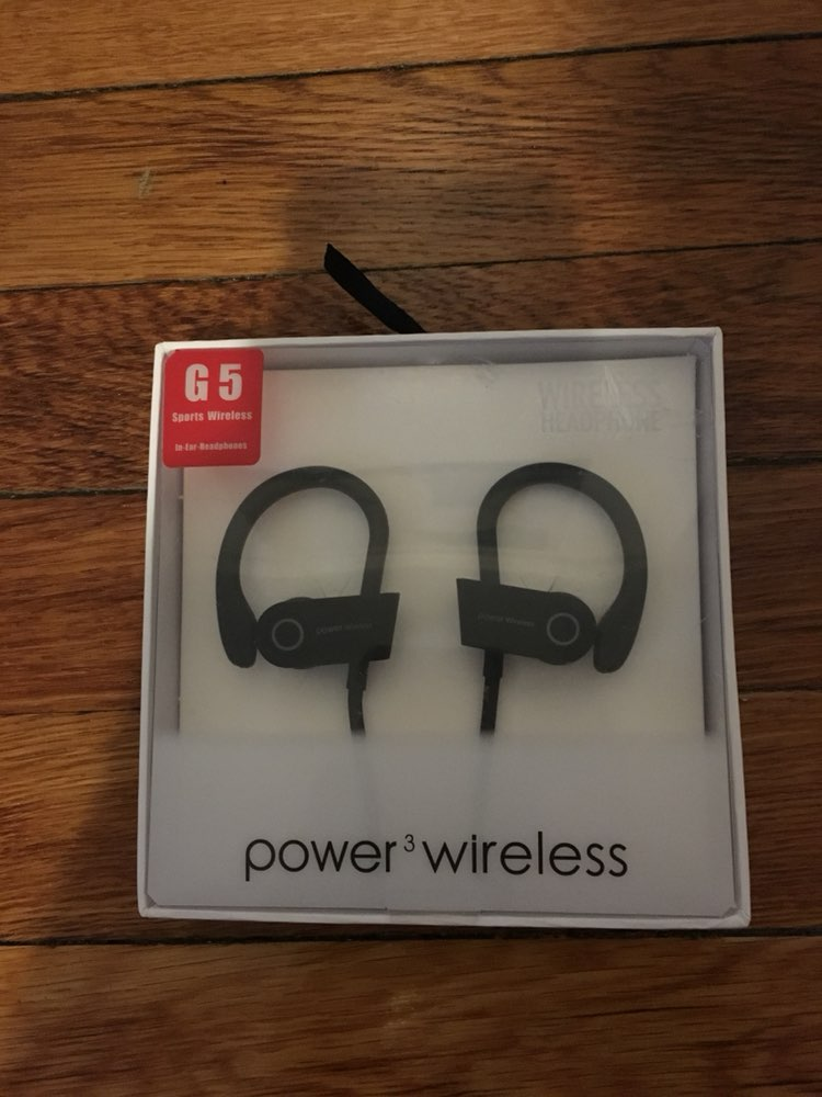 Power Wireless Headphone Black