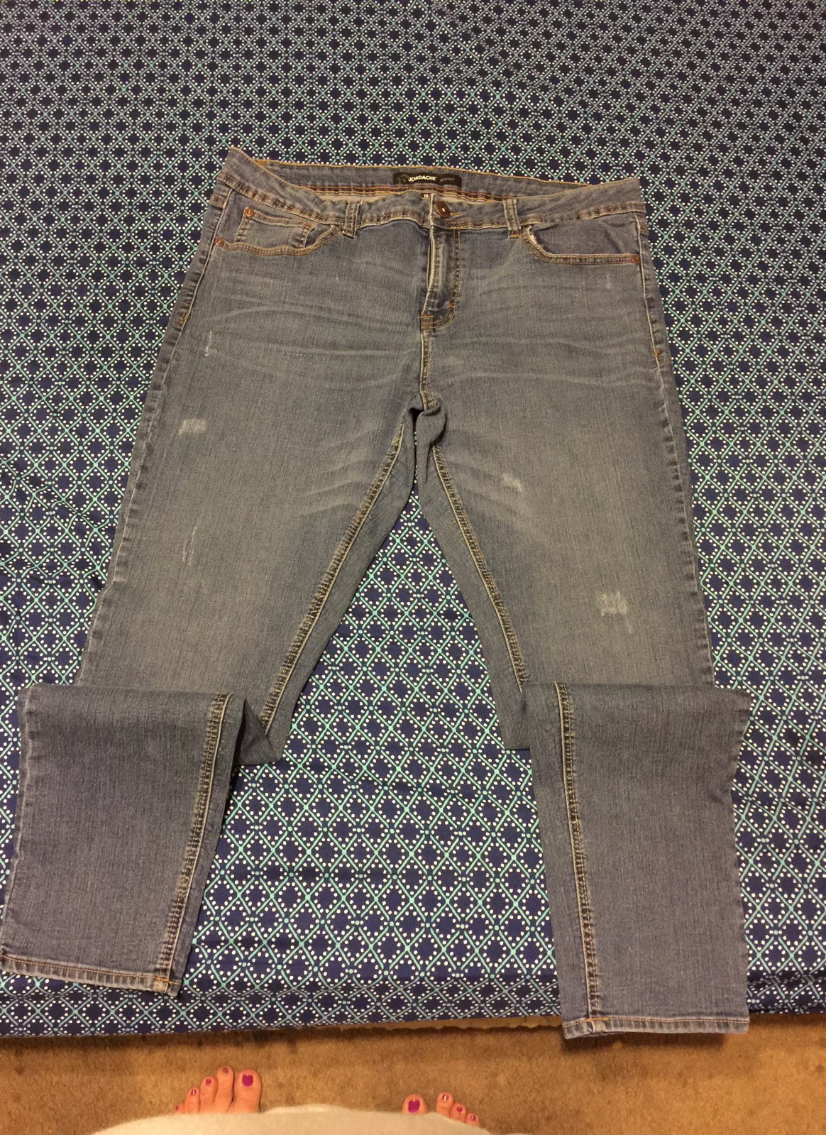 Cheap skinny jeans size 18