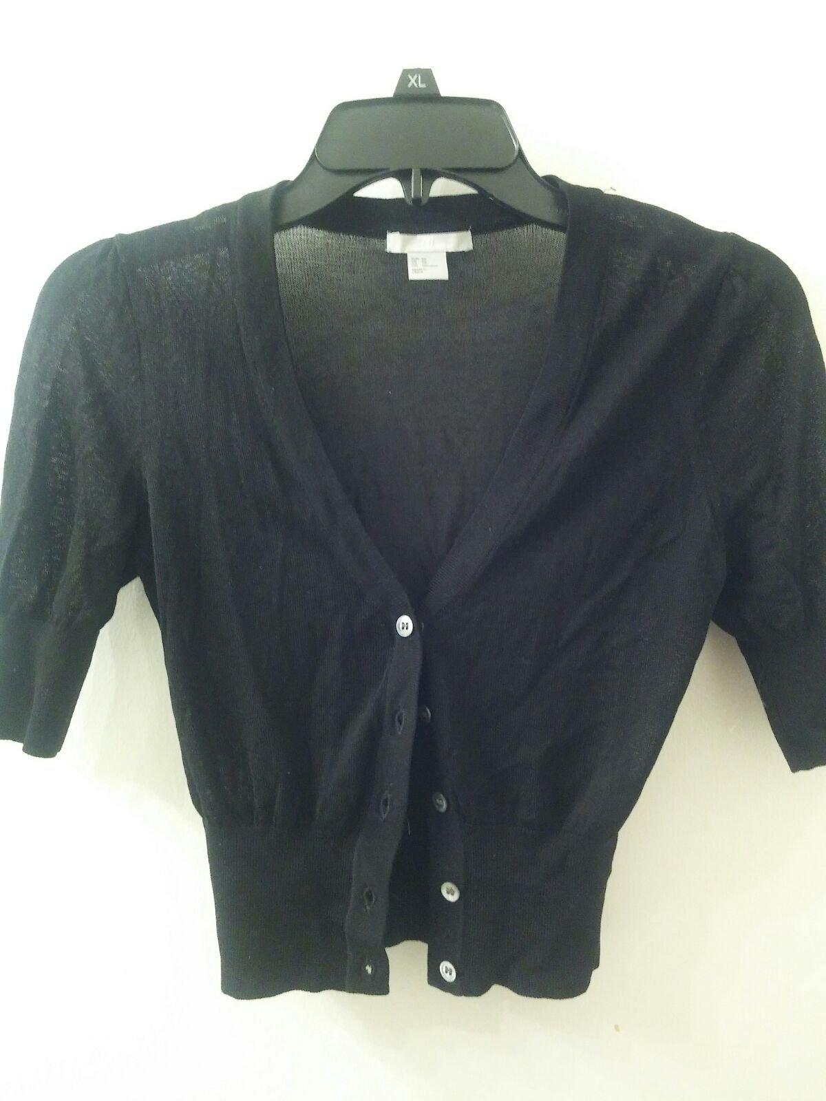 H&M XS black Cardigan - Mercari: BUY & SELL THINGS YOU LOVE