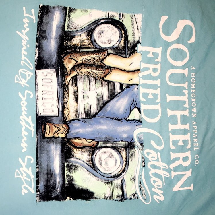 southern fried cotton Long Sleeve