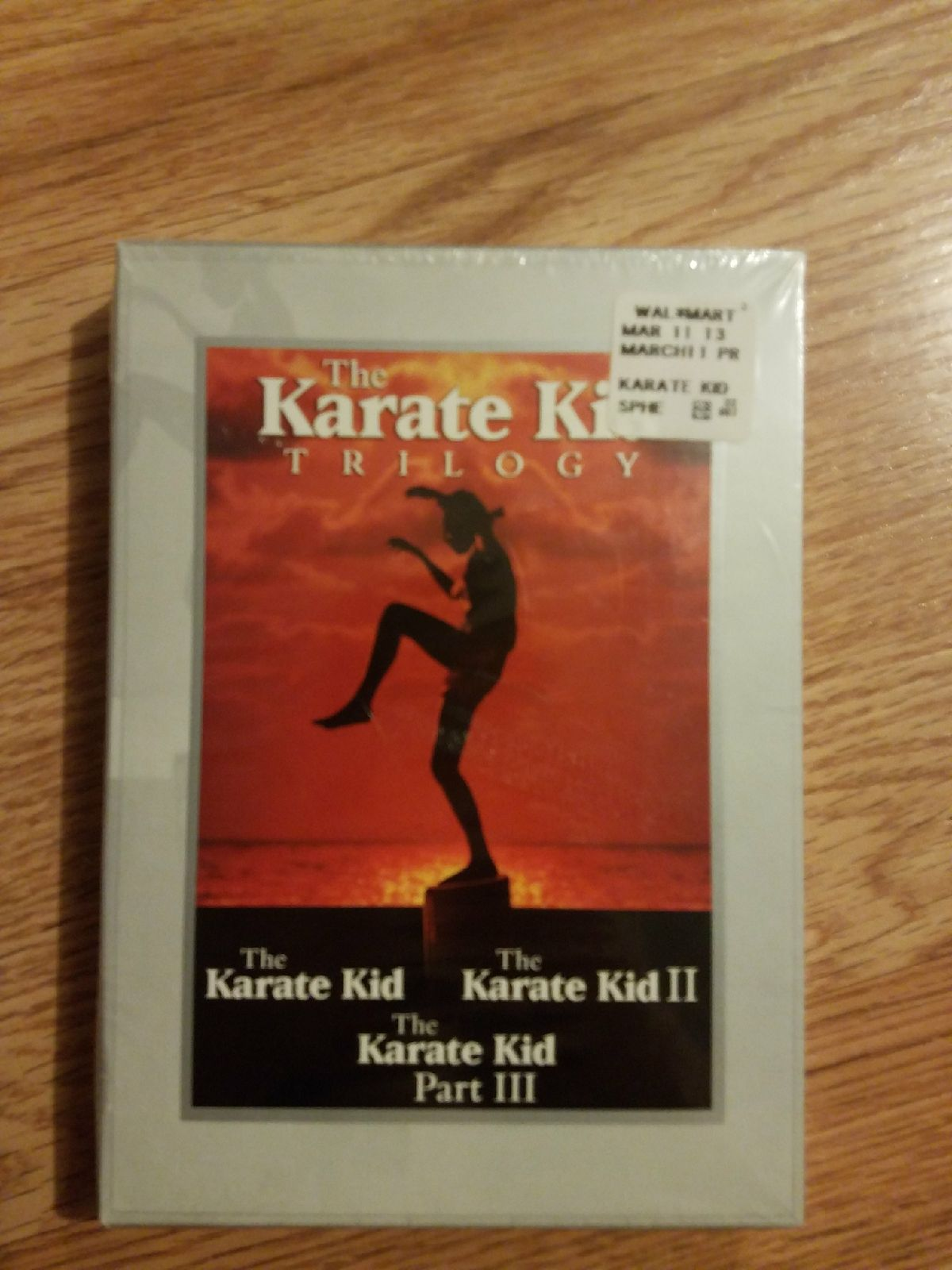 Karate kid trilogy