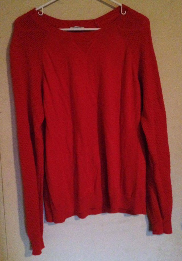 Old Navy Orange Sweater - Mercari: BUY & SELL THINGS YOU LOVE
