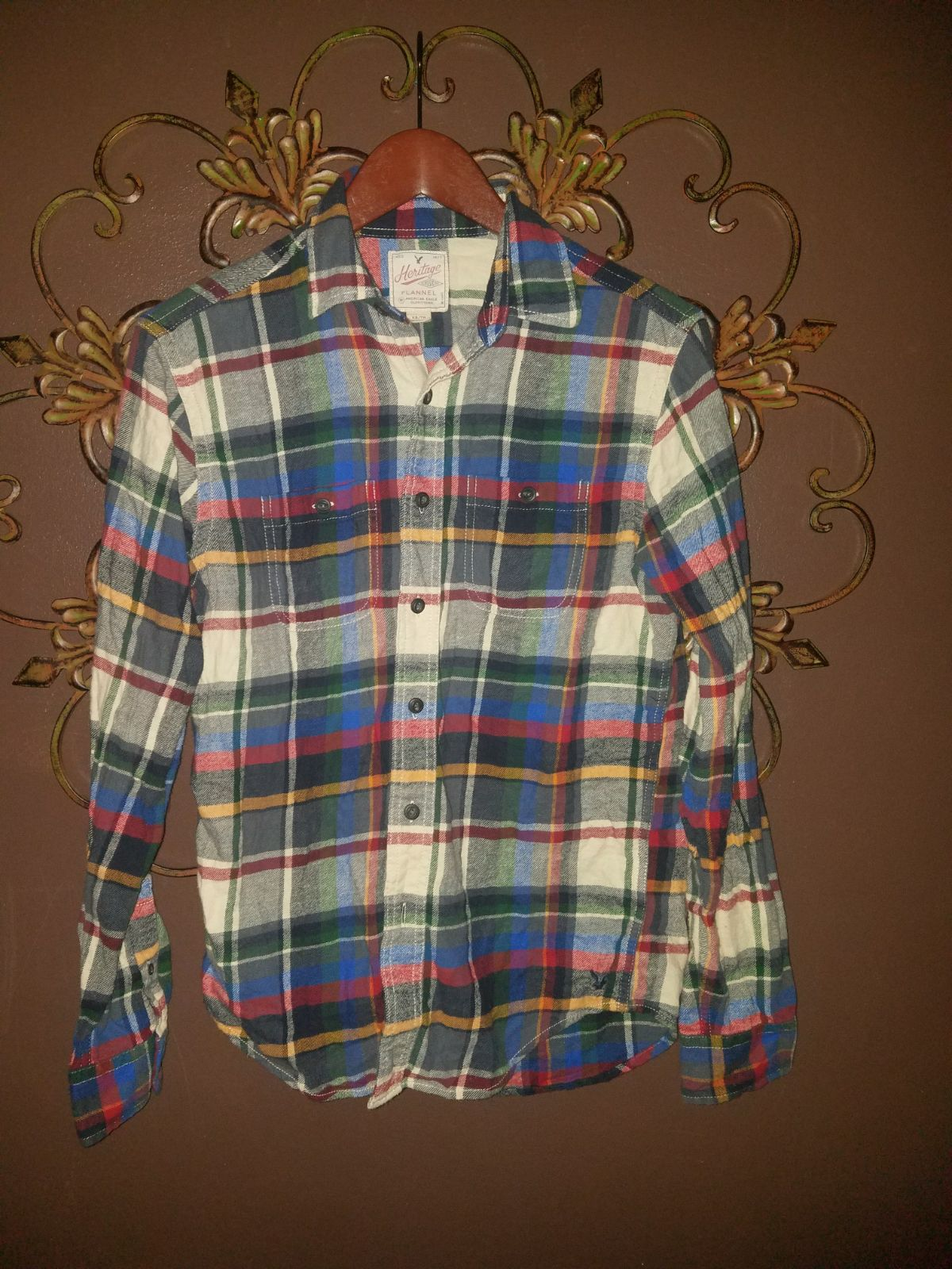 Mens AE Flannel