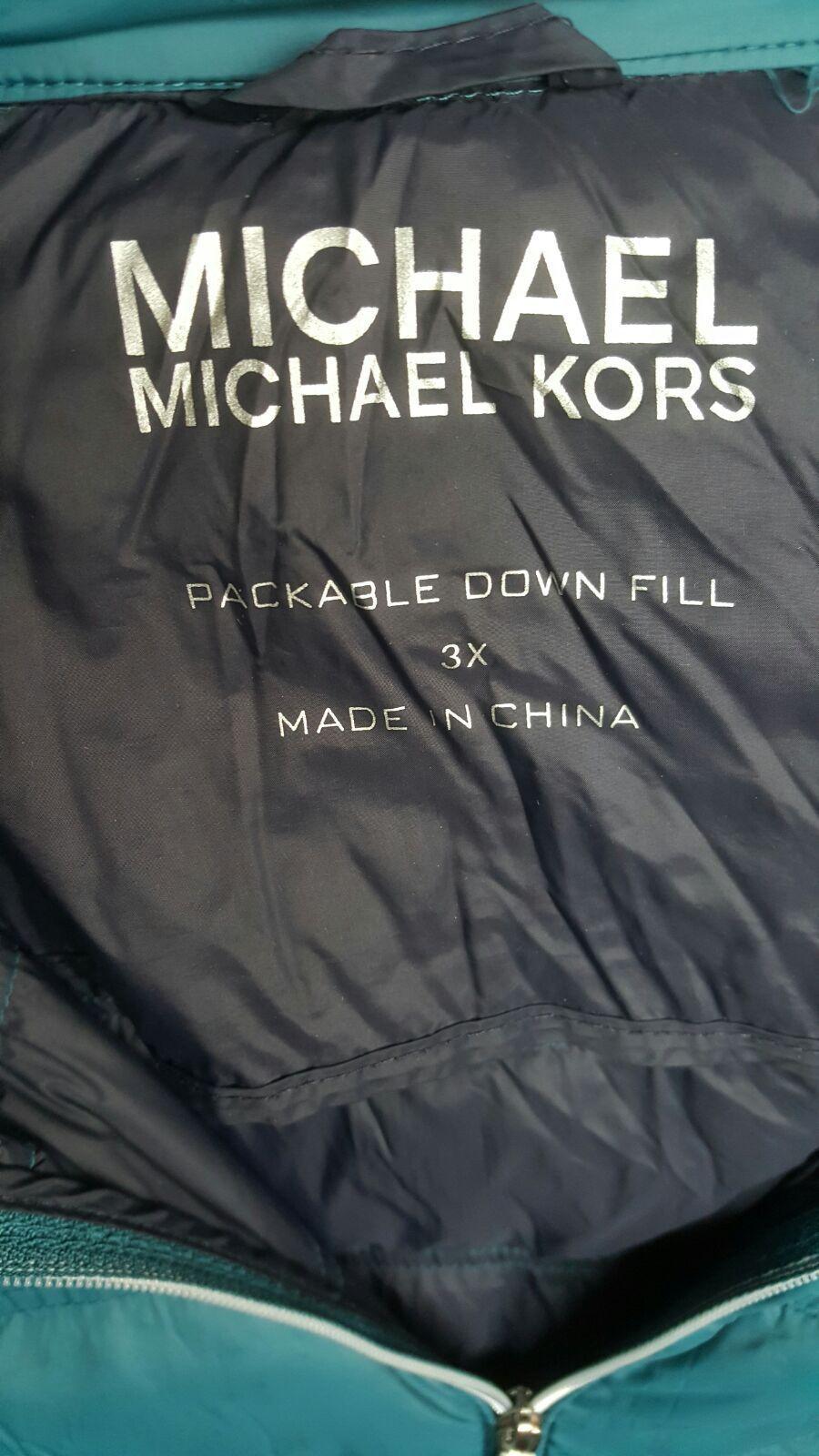 MK men light down jacket