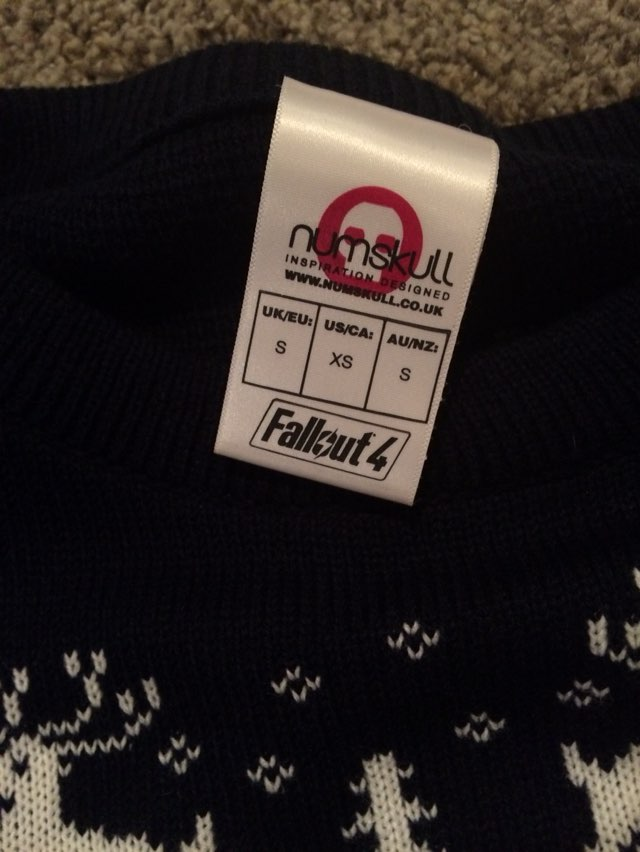 Fallout Christmas Sweater
