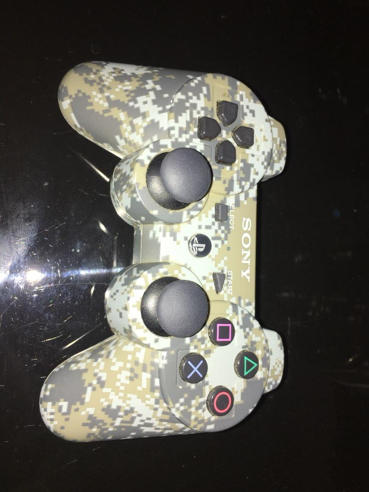 PS3 Camo Wireless Controller