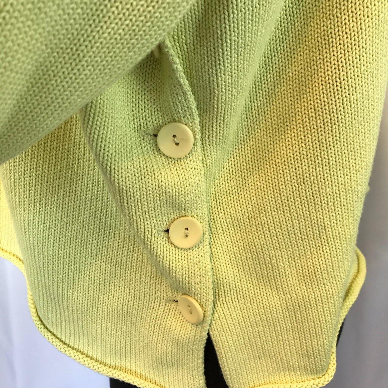 J Jill Pullover Yellow/Green Sweater Sm - Mercari: BUY & SELL ...