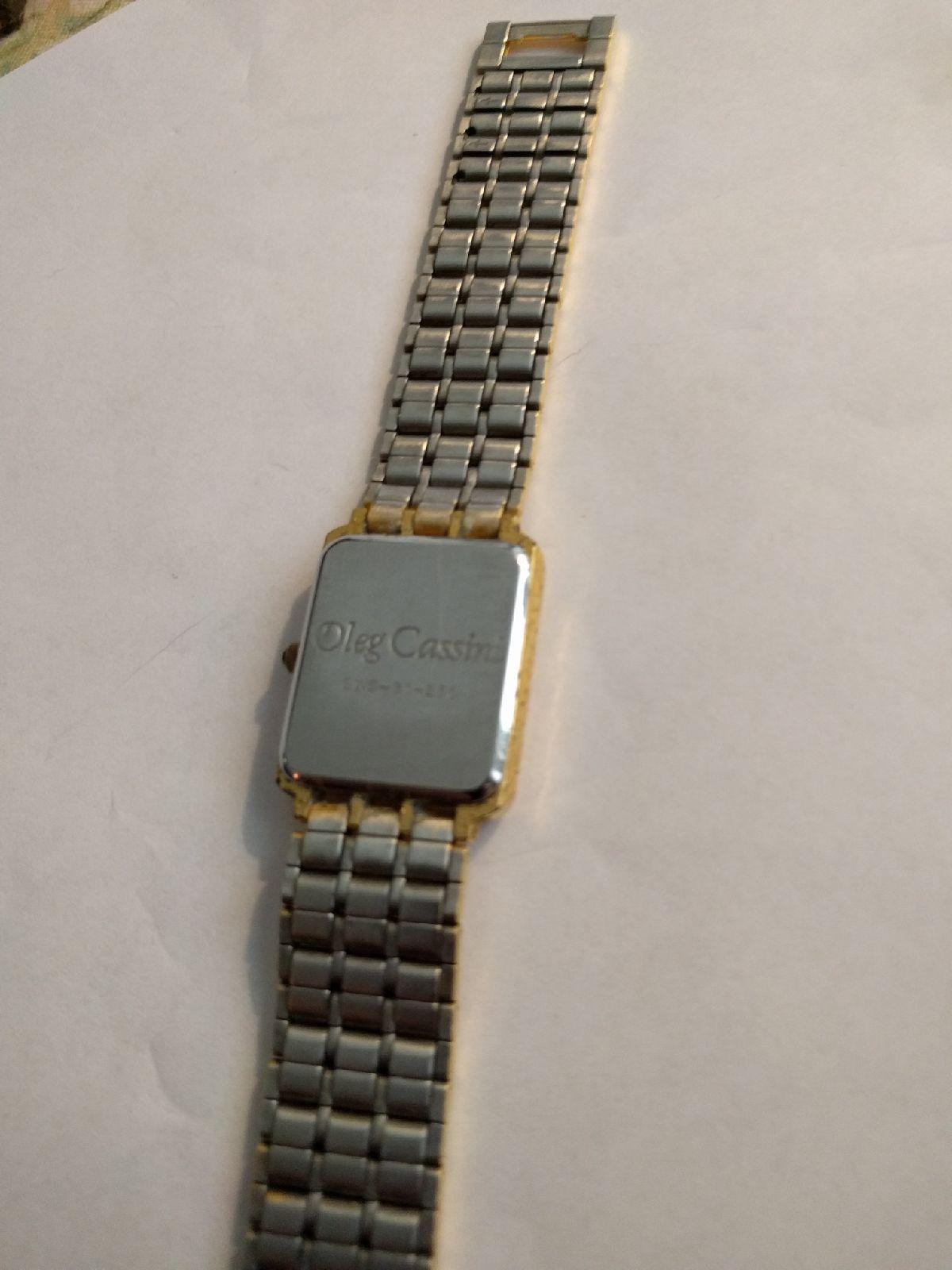 Vintag Oleg Cassini Swiss quartz watch
