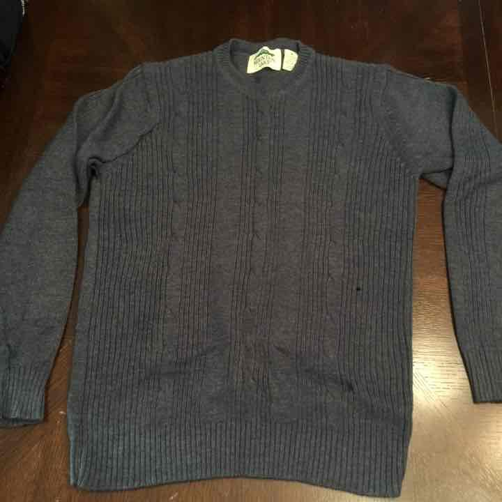 Men's Blue Mountain Lake Sweater - Mercari: BUY & SELL THINGS YOU LOVE