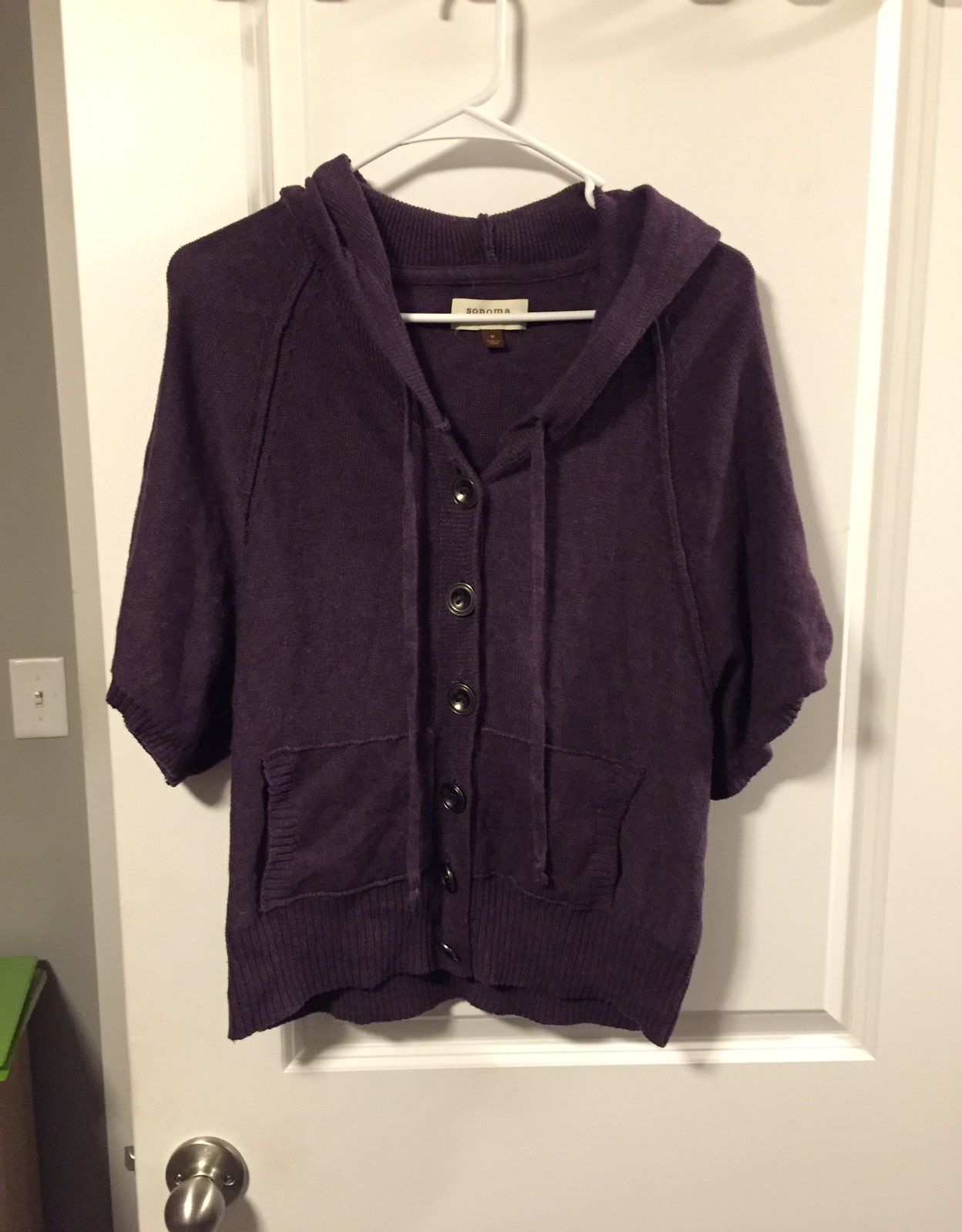 Hooded Purple Sweater - Mercari: BUY & SELL THINGS YOU LOVE