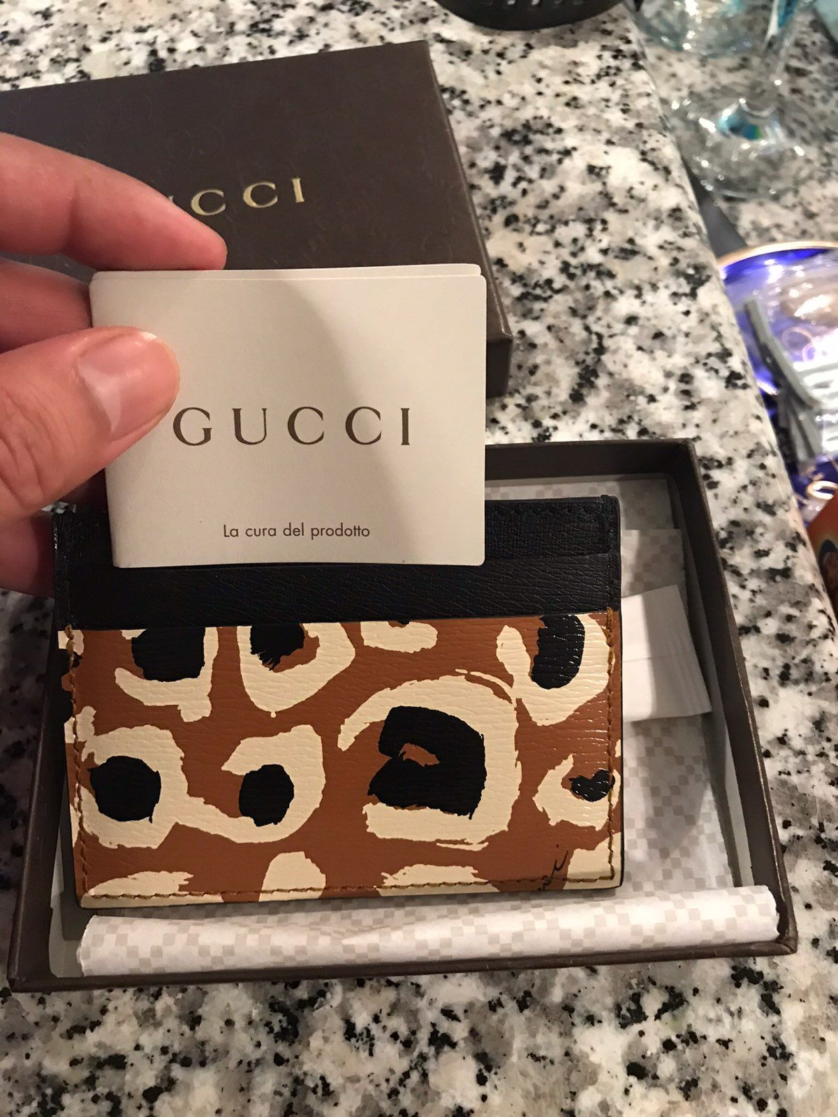 Gucci business card holder mercari buy sell things you love gucci business card holder magicingreecefo Images