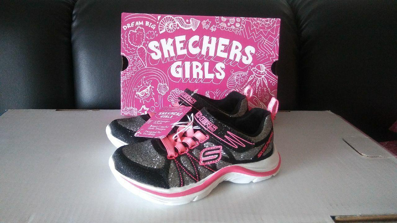 girls skechers size 13