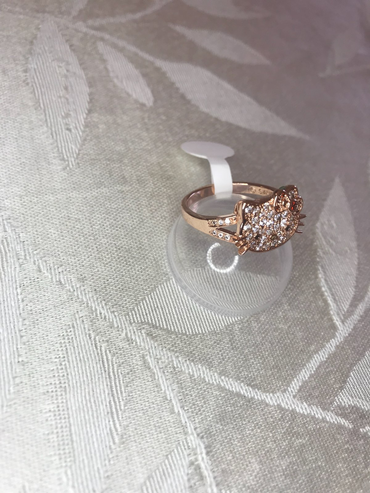 hello kitty ring from fragrant jewels s9 - Hello Kitty Wedding Ring