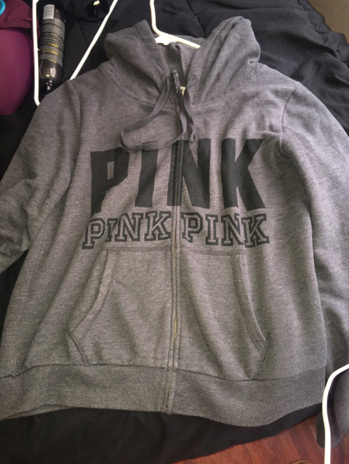 Dark Gray pink Sweater - Mercari: BUY & SELL THINGS YOU LOVE