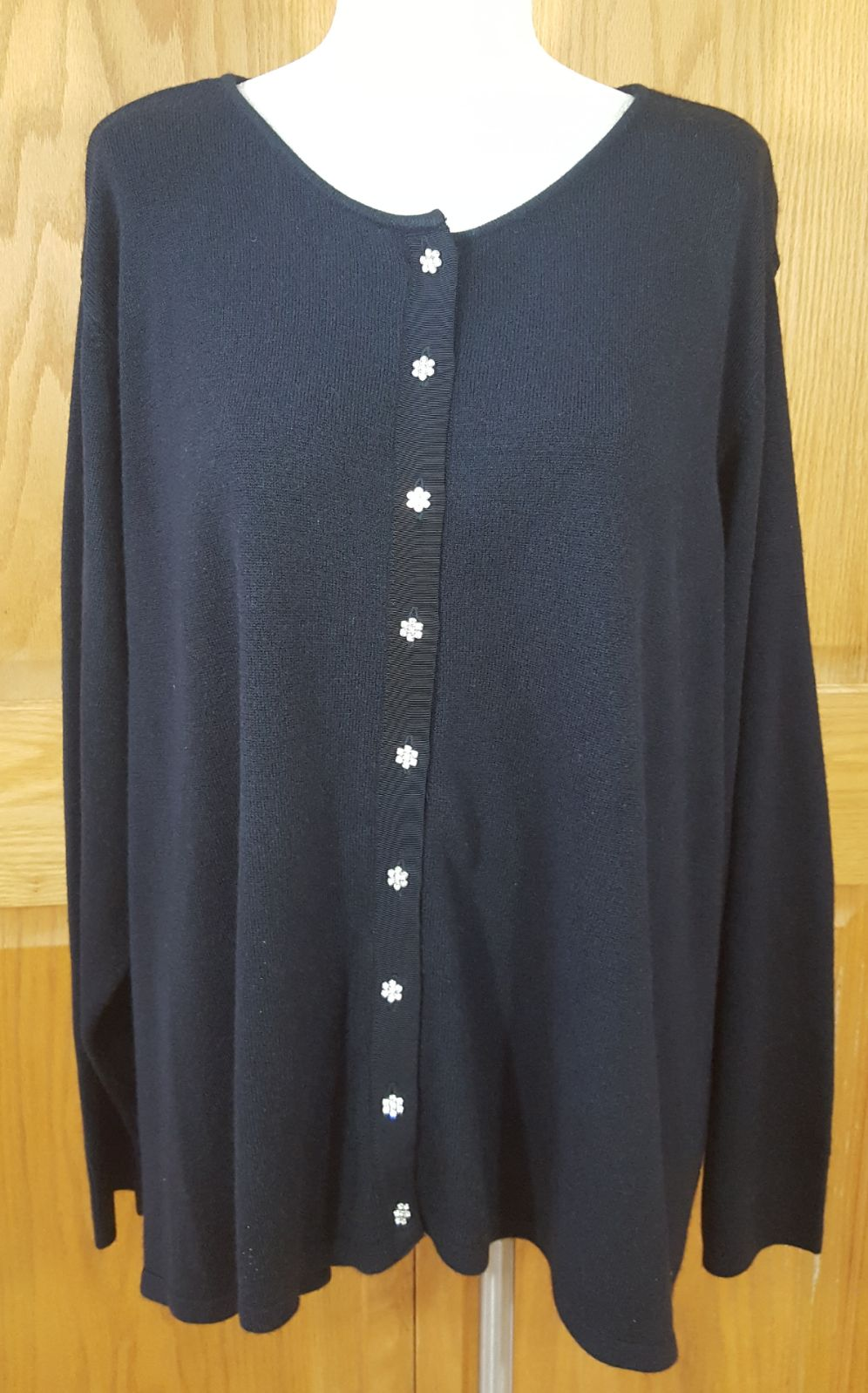 Avenue Black Cardigan Size 26 - 28 - Mercari: BUY & SELL THINGS ...
