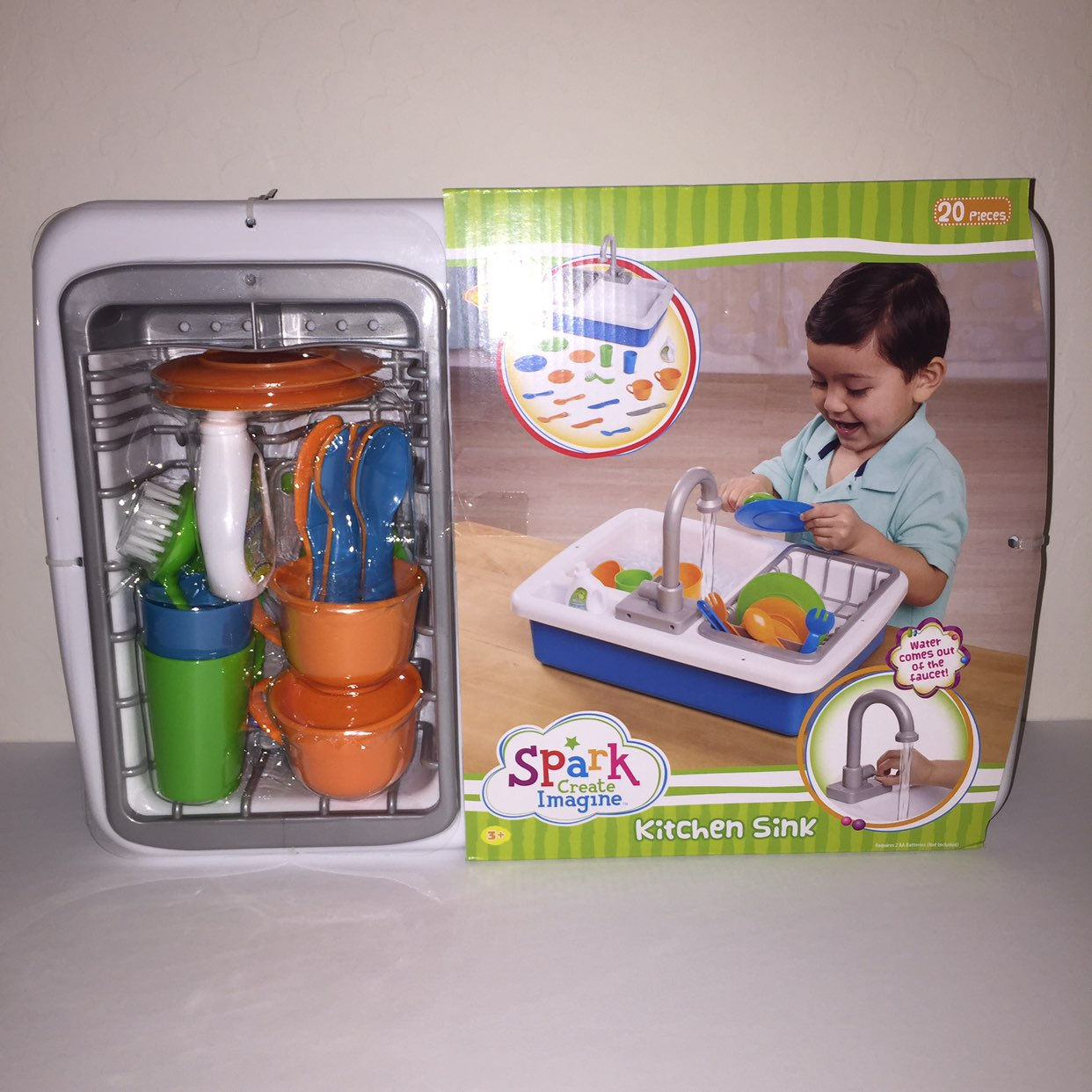 Spark Kitchen Sink Running Water Toy Mercari Buy Amp Sell