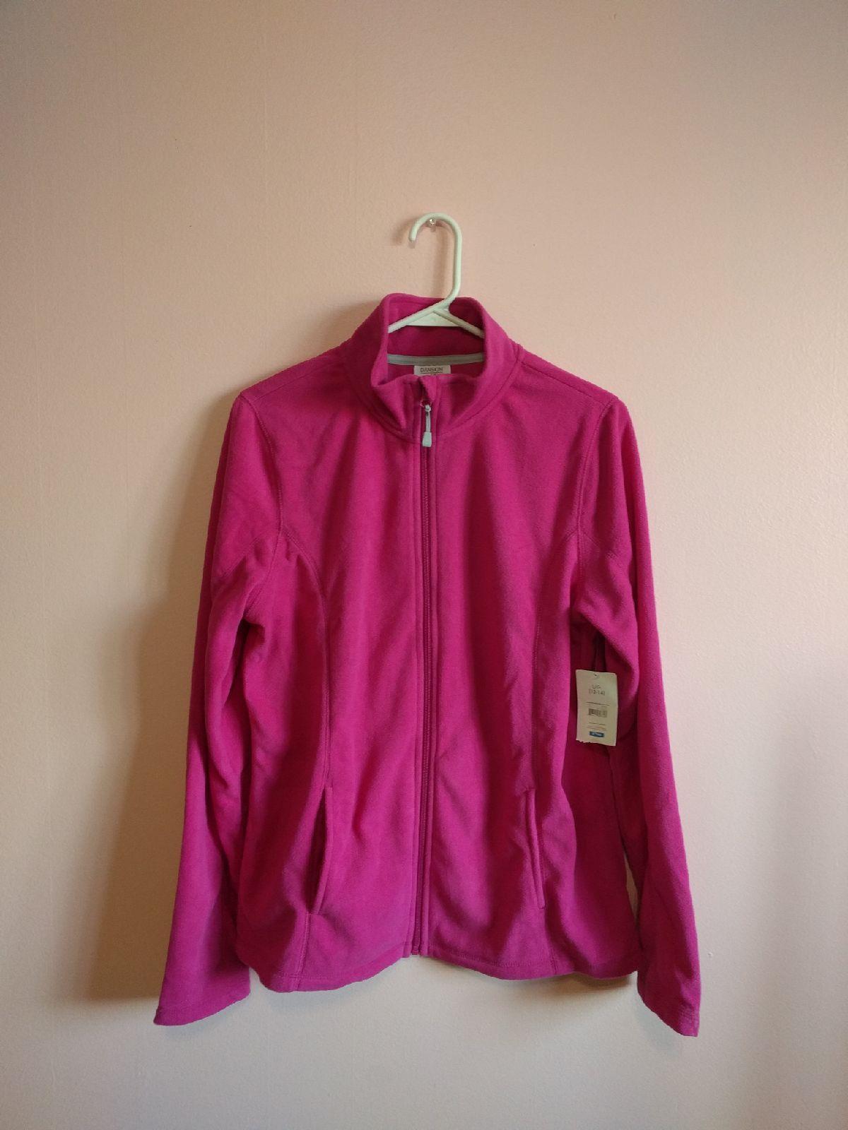 New Danskin Now Fuschia Pink Jacket - Mercari: The Selling App