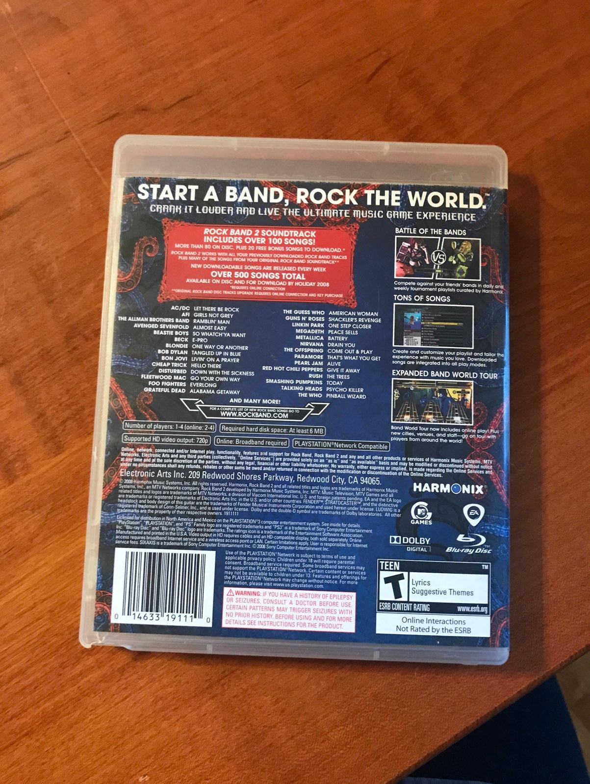 Bonus Downloadable Tracks Rock Band 2 - generatorwaves's diary