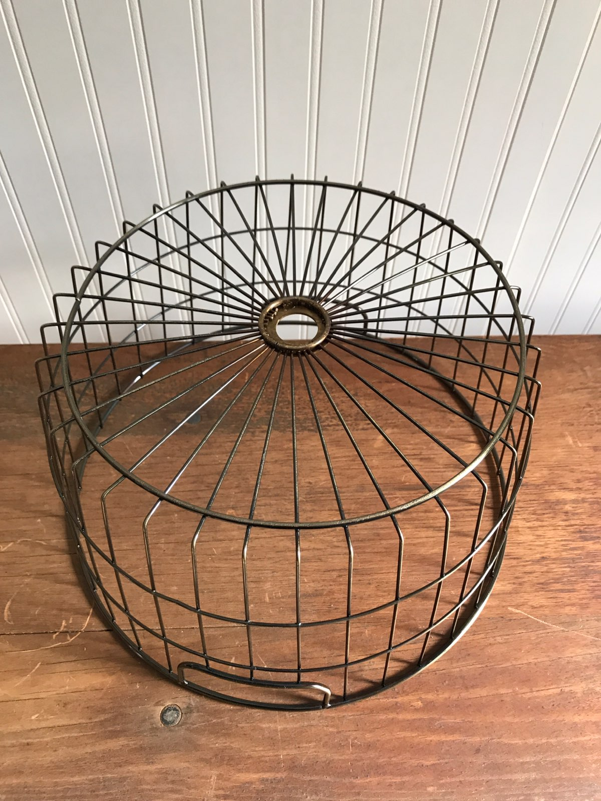 Brass Wire Fruit Egg Storage Basket