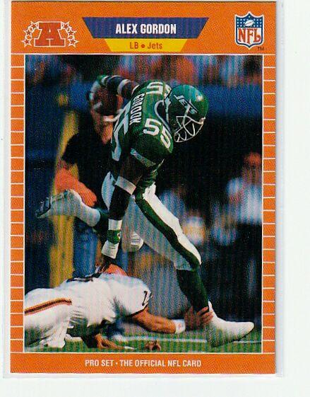 Alex Gordon 1989 NFL Pro Set