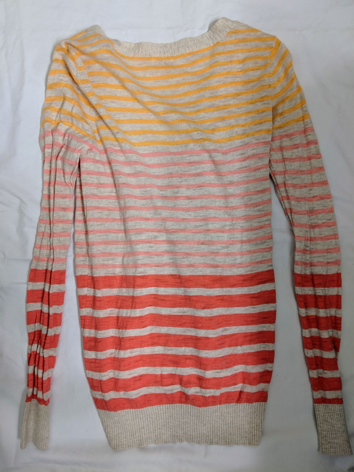 Mossimo Target Med Striped Cardigan - Mercari: BUY & SELL THINGS ...